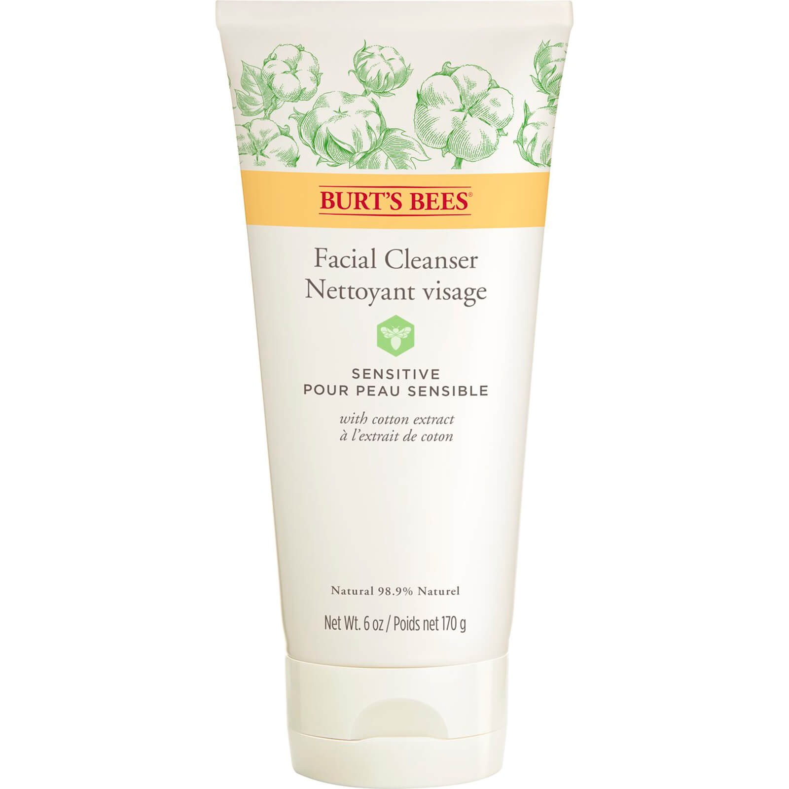 Limpiador facial Sensitive de Burt's Bees