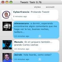 Tweetr, cliente de Twitter bajo la plataforma Apollo de Adobe