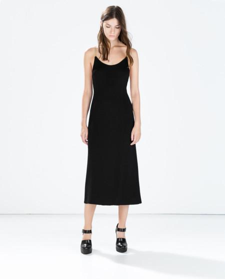 – Punto 2019 Zara De Vestido Vestidos Largo Verde A5Rq34jL