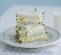 El bocadillo más simple y rico del mundo, el sándwich de ensalada de huevo