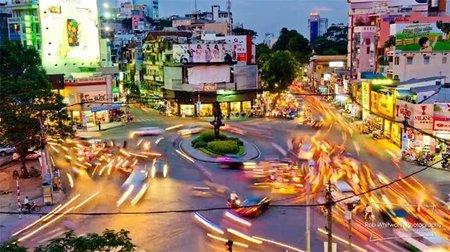 Tráfico en Ho Chi Minh City, el caos organizado