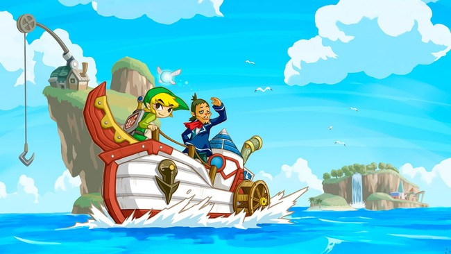 Zelda Wind Waker Phantom Hourglass