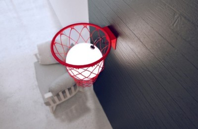 Si te gusta el baloncesto y te gusta la decoración, deberías ver esta lámpara