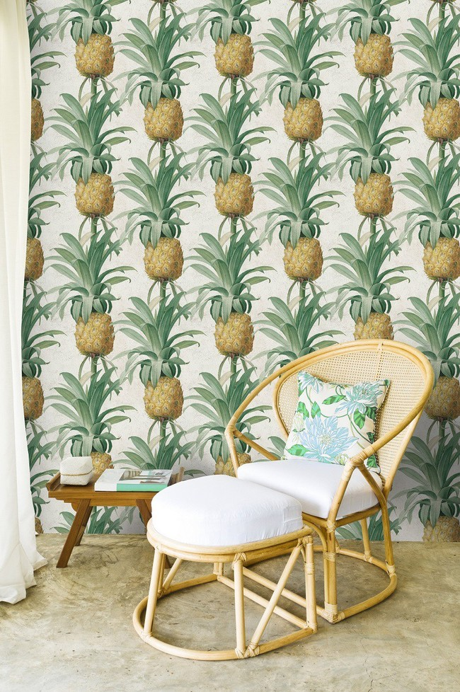 Pineapple Wallpaper By Mindthegap