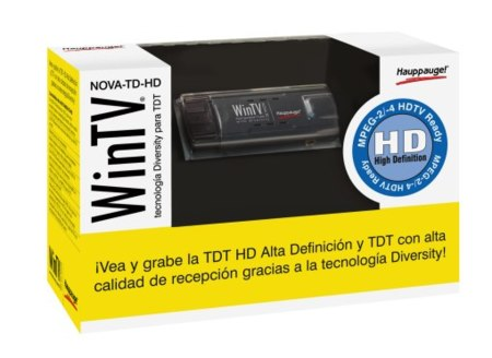 Hauppauge WinTV Nova TD HD, con doble sintonizador