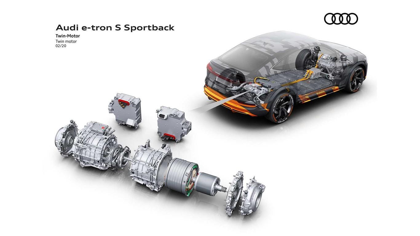versión deportiva Audi e-tron S y e-tron S Sportback