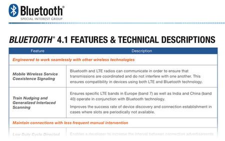 Bluetooth 4.1, nueva versión con mejoras interesantes