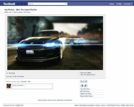 'Blur' y su integración con Facebook