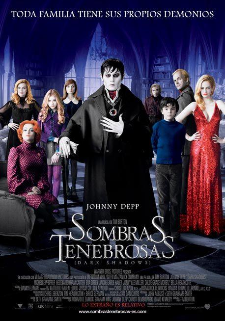 Foto de 'Sombras Tenebrosas (Dark Shadows)', carteles de la película de Tim Burton (1/21)
