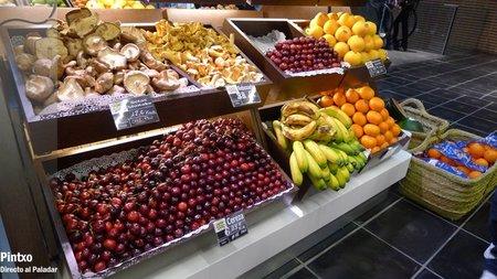 Frutería del Mercado de San Antón