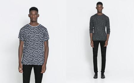 camisa leopardo zara