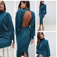 Este vestido lo tiene todo para convertirte en la invitada perfecta, de día o de noche
