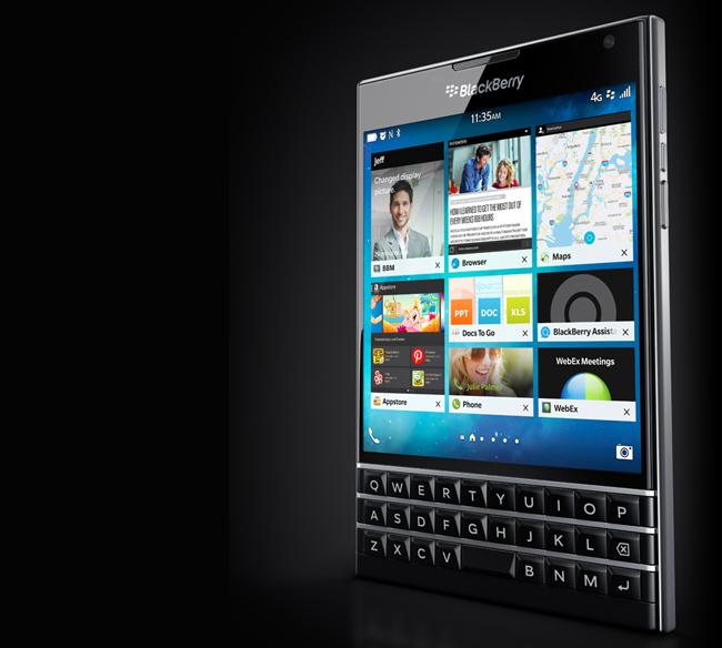 Foto de BlackBerry Passport (7/12)