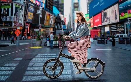 Esta bicicleta eléctrica ha conseguido eliminar un elemento básico: la cadena de la rueda