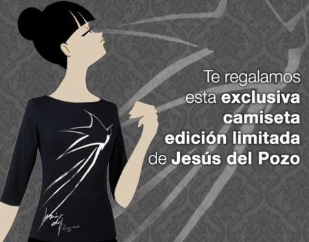 Concurso de una camiseta de Jesús del Pozo