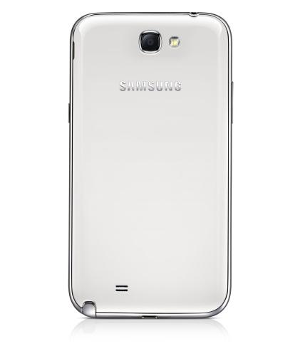 Galaxy Note II parte trasera de la cámara