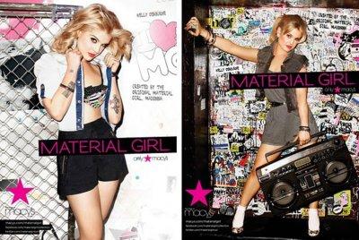 Kelly Osbourne protagoniza la nueva colección diseñada por Madonna
