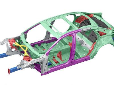 La carrocería del nuevo Audi A8 tendrá aluminio, acero, magnesio y polímero reforzado con fibra de carbono