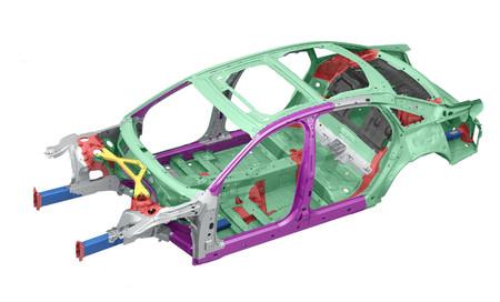 Audi A8 carrocería
