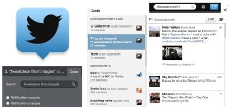 Tweetdeck se actualiza añadiendo edición de búsquedas y algunos atajos de teclado