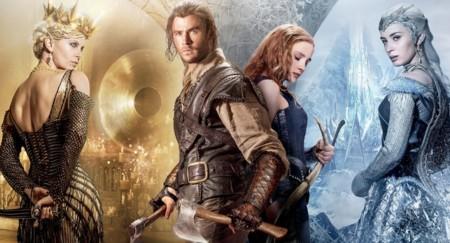 'Las crónicas de Blancanieves: El cazador y la reina del hielo', la película
