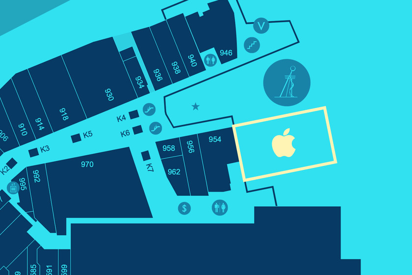 La Apple Store de Aventura, Florida, se trasladará a un gran pabellón al aire libre thumbnail