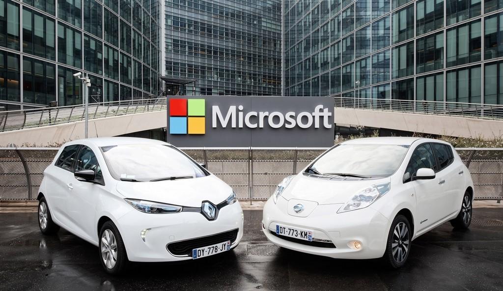 La alianza Renault-Nissan-Mitsubishi lanza una plataforma para coches conectados basada en Microsoft Azure