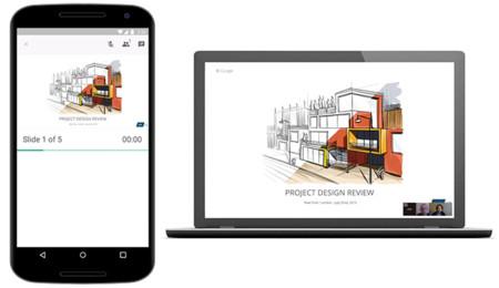 presentaciones de google para android ahora te permite emitir por