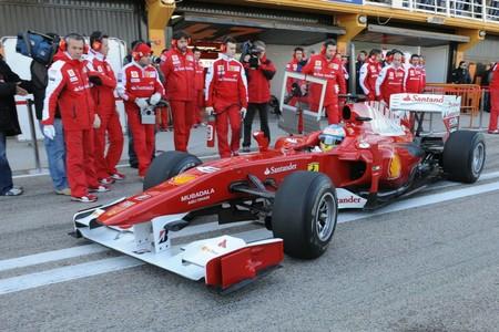 Alonso Ferrari 2011