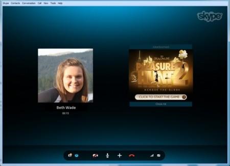 Skype anuncia el lanzamiento de los Conversation Ads. Anuncios publicitarios en la ventana de llamada