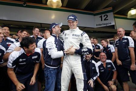 Williams F1 confirma a Rubens Barrichello para 2011. Nico Hülkenberg no continúa