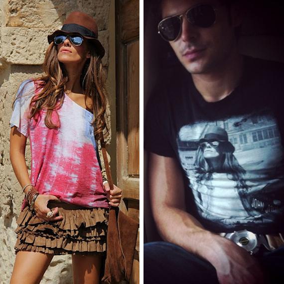 camiseta robada bloguera