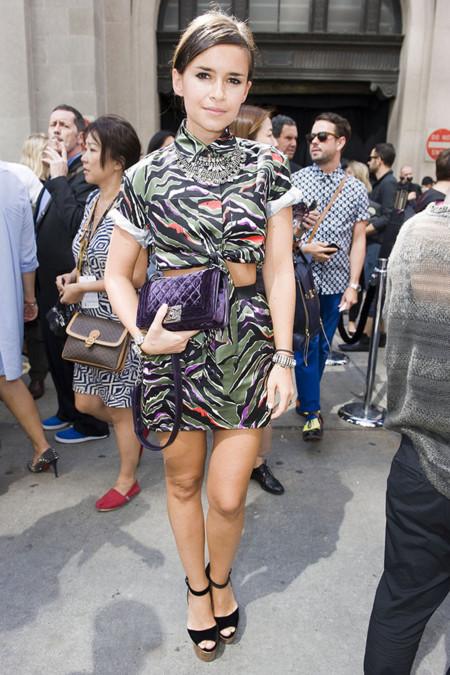 Look Miroslava Duma con bolso Boy Chanel