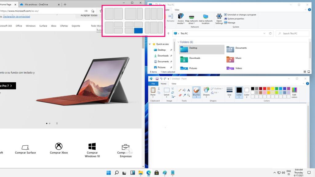El nuevo menú del botón de maximizar de Windows 11 facilita la gestión de ventanas: así funciona, en vídeo