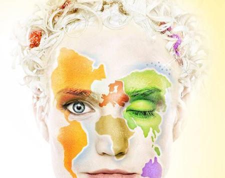 Fantástico maquillaje artístico de Cirque du Soleil