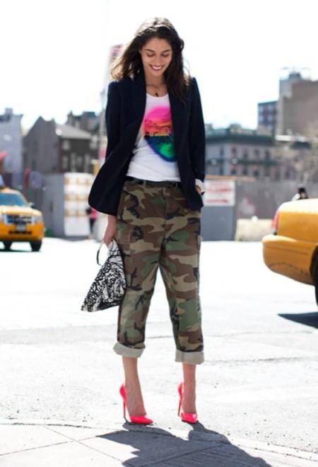 Color up! Cuando das todo el protagonismo a tus stilettos