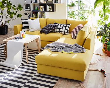 Once ideas en amarillo para iluminar los espacios de tu casa