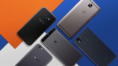Smartphones Gama Media Alta Mexico