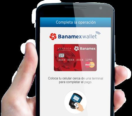 Aplicacion Banamex Wallet Celular Operacion