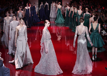 Elie Saab Alta Costura Otoño-Invierno 2013/2014: el arte de los vestidos joya