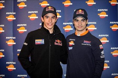 Dani Pedrosa y Marc Márquez contra el cronómetro