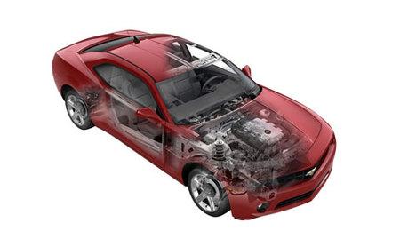 Chevrolet Camaro RS engine