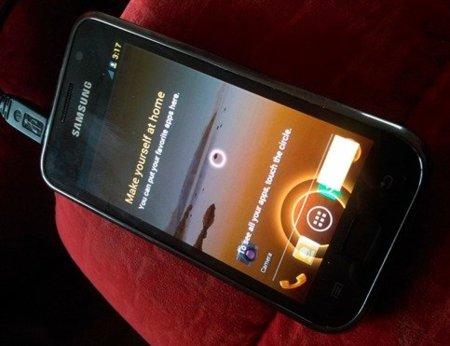 Samsung Galaxy S con Custom ROM de ICS