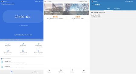 Huawei Matepad Pro Benchmarks