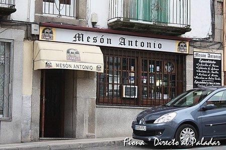 Mesón Antonio, comida de cuchara en Béjar