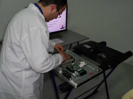 Samsung sistema técnico por dentro
