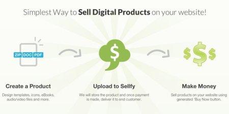 Sellfy te ayuda a vender tus creaciones digitales