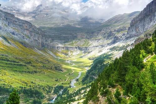 El valle de Ordesa, escogido como el más bonito de España