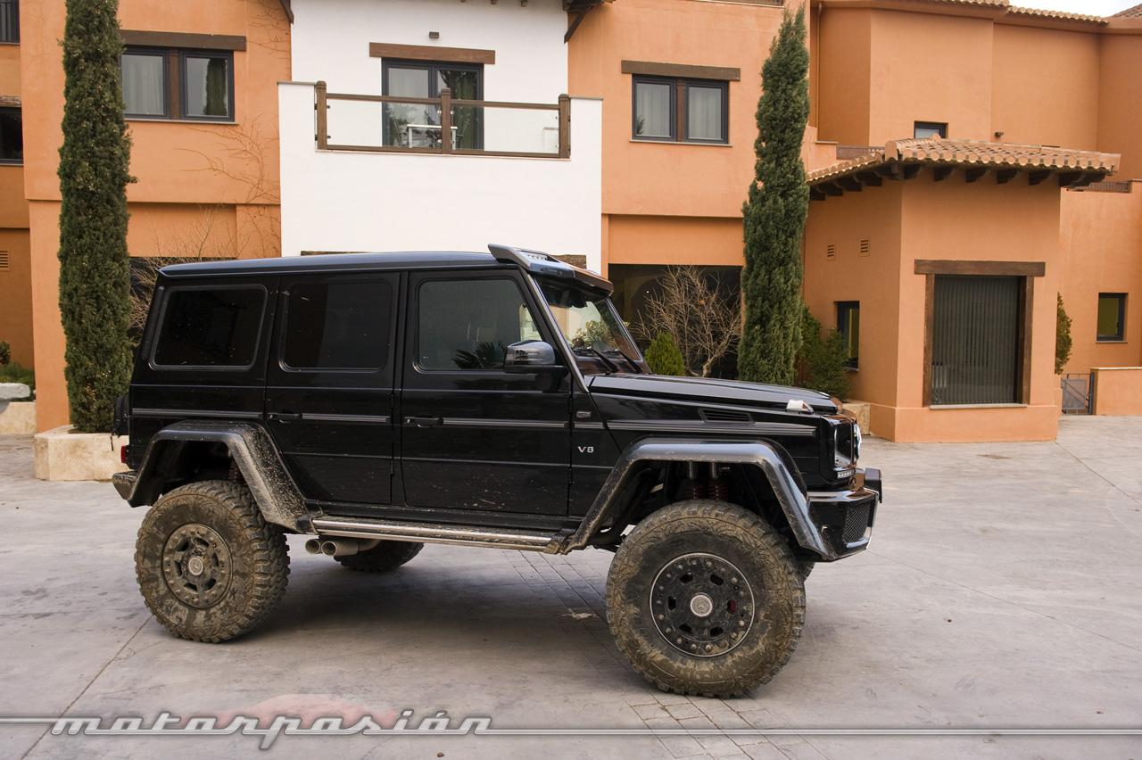 Foto de Mercedes-Benz G 500 4x4², toma de contacto (119/127)