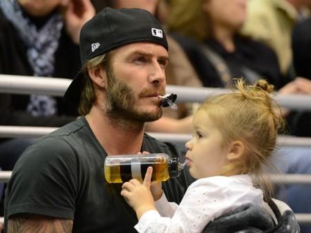 David Beckham, ¿se puede ser un papá más adorable y buenorrazo?